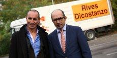 François et Christophe Dicostanzo dirigent tous les deux Rives Dicostanzo