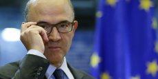 Pierre Moscovici, le commissaire européen aux Affaires économiques et financières.