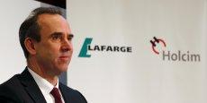 Eric Olsen, directeur général de LafargeHolcim