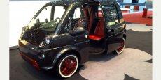 Un véhicule électrique proposé à la location dans l'offre de Mobileco