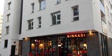 Le restaurant Ninkasi, à La Doua (Villeurbanne).