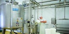 L'usine Savoie Lactée transformera le lactosérum en produits laitiers.