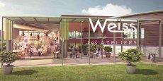 Les Ateliers Weiss seront voisins de l'ensemble commercial Steel qui doit ouvrir ses portes en 2018.