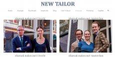 """New Tailor, dont l'équipe est basé à Amsterdam et à Utrecht, aux Pays-Bas, a utilisé la photo du DRH d'Air France pour une campagne publicitaire vantant les mérites d'une """"chemise de rechange"""""""