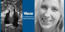 Geneviève Campan et Véronique Torner, nominées 2015 des Tribune Women's Awards dans la catégorie numérique