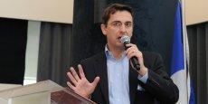 Yann Pitollet est le directeur de l'agence de développement Nord France Invest.