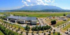 L'Institut national de l'énergie solaire (INES) sur le site du technopole de Savoie Technolac.