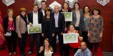 Les lauréats de la YESS Académie 2015, au Pôle Réalis à Montpellier, le 13 novembre.