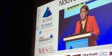 Martine Pinville, secrétaire d'Etat au Commerce et à l'Artisanat, n'a pas fait les annonces attendues par les hotelliers et restaurateurs en matière d'une concurrence juste et efficace avec les acteurs de l'économie collaborative.