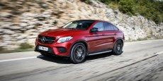 La Mercedes GLE Coupé dont le prix démarre à 69.900 euros.
