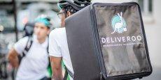 Deliveroo livre l'agglomération lyonnaise à vélo.