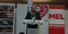 Guillaume Delbar, le maire de Roubaix et le porteur du projet Blanchemaille.