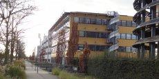 Le parc d'activités économiques Rovaltain, à proximité de la gare SNCF.