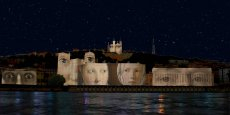 Les noms des victimes des attentats du 13 novembre seront projeté sur les façades de la Saône.