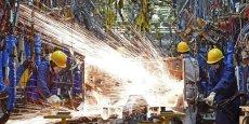 """""""la production industrielle a connu en fin d'année une traversée du désert"""", a reconnu dans un communiqué le ministère allemande de l'Economie."""