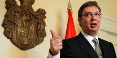 Aleksandar Vučić, le Premier ministre serbe, est mis dans l'embarras par ces manifestations.