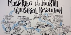 La Quatrième Révolution Industrielle vue à Davos en janvier 2016.