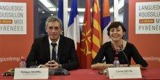 Philippe Saurel et Carole Delga ont eu, le 1er février, leur 1ère séance de travail officielle
