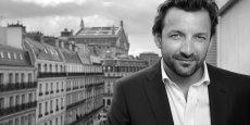 Karim Ferchiou, président de Voitures Noires, startup lancée en 2013, qui revendique un chiffre d'affaires de 40 millions d'euros.