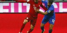 Le Bayern de Munich de Franck Ribery dégage un résultat net de 20,6 M€.
