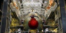 Airbus a livré 111 avions en décembre, soit quasiment l'équivalent de deux mois de production au rythme mensuel observé ces derniers mois (autour de 60 avions par mois)