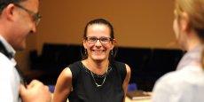 Séverine Sigrist, présidente d'Alsace Biovalley et fondatrice de Defymed, une startup spécialisée dans la mise au point d'un pancréas artificiel.