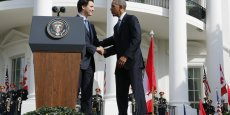 Le Premier ministre canadien Justin Trudeau et ses hôtes, les présidents américain Barack Obama et mexicain Enrique Peña Nieto, doivent se rencontrer mercredi matin à Ottawa.  Justin Trudeau avait été reçu en mars à la Maison Blanche.