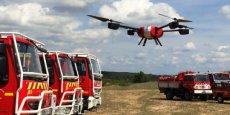 Les drones de Novadem servent notamment à comprendre les raisons des incendies.
