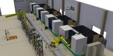 Le robot nouvelle génération bientôt en action dans l'usine de Sud Aéro