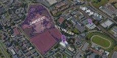 Sur les 12,5 hectares de terrains que le Sicoval a racheté à Sanofi et mis à disposition, le Campus IoT se déploiera sur environ 8 hectares