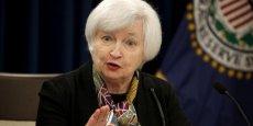 La Fed, présidée par Janet Yellen a décidé de maintenir les taux d'intérêt dans leur fourchette actuelle comprise entre 0,25% à 0,50%.