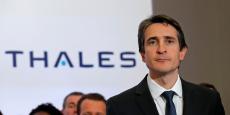 Thales et son PDG Patrice Caine tablent sur un taux de croissance de 5% par an pour les trois prochaines années.