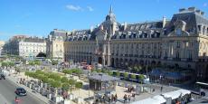 La place de la République à Rennes. En 2015, bpifrance Bretagne a soutenu 250 projets dans la région.