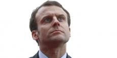 Les artisans du bâtiment sont vent debout contre la politique menée par le ministre de l'Economie Emmanuel Macron.