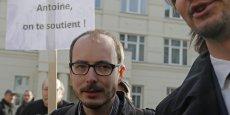 pendant les audiences du procès qui se déroule à Luxembourg, Antoine Delcour qui, tout comme les deux autres prévenus, risque 10 ans de prison, a dû se sentir un peu seul.