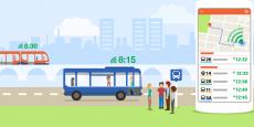 En combinant les données officielles des sociétés locales de transport en commun et les données temps réel fournies par sa communauté d'utilisateurs, Moovit répertorie tous les modes de transports locaux en une seule application.