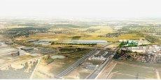 Vue d'ensemble du futur Parc des expos