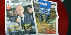 L'Edition régionale Bordeaux est diffusée avec l'Edition nationale de La Tribune dans tout l'Hexagone.