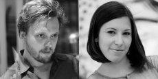 Arthur de Grave et Francesca Pick, animateurs du collectif OuiShare.