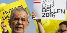 Alexander van der Bellen est le nouveau président autrichien