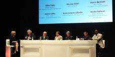 Emmanuel Durand-Rodriguez (rédactrice en chef La Tribune Toulouse), André Joffre (pôle DERBI), Gilles Capy (EDF LRMP), Nicolas Cristi (SUNibrain), Pierre Deniset (French South Digital), Jean-Jacques Labadie (Air France - KLM), Bertin Nahum (Medtech).