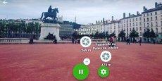 L'application Xplora permet d'explorer en réalité augmentée les lieux touristiques, grâce à un système de géolocalisation.