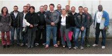 Le collectif d'anciens salariés se mobilise pour faire renaître leur usine.