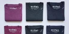Les différents coloris de tee-shirts proposés par Hopaal.