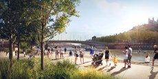 Les Terrasses de la presqu'île devraient être achevées entre 2020 et 2021.
