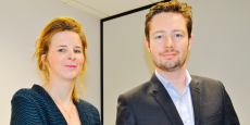 Julie Le Goff et Raphaël Cottin ont créé la startup Pomelaw