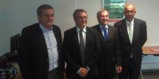 Les représentants des trois Safer existant sur le périmètre de la nouvelle grande région se sont rencontrés à Maurin (34) le 21 juin.