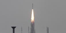Le lancement a eu lieu à partir du centre spatial de l'île de Sriharikota.