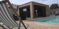 Cube in life propose d'agrandir sa maison avec des extentions en bois qui viennent se greffer sur l'existant.