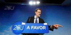 Mariano Rajoy veut rester à la Moncloa.